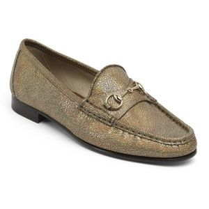 Gucci Shoes - GUCCI Horsebit Loafers Special Edition Gold 1953